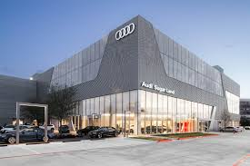 audi headquarters audi sugar land flying x