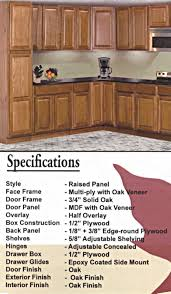 raised panel oak cabinets pre finished raised panel oak kitchen cabinets