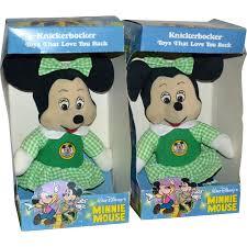 Minnie Mouse Toy Box Knickerbocker Minnie Mouse In Green Dress U0027mickey Mouse Club U0027 Soft