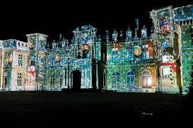 waddesdon manor manor christmas 2017 winter light festival
