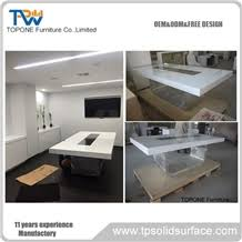 marble conference room table artificial marble stone simple design office conference room table