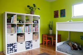 minimalist bedroom lime green color scheme for girls interior kids