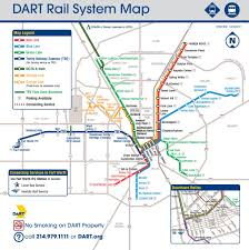 Chicago Elevated Train Map by Dallas Dart Rail Map