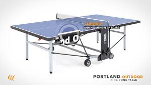 tennis table near me portland outdoor ping pong table by tiger pingpong youtube