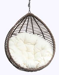 Rattan Hammock Chair Decorating Microsuede Papasan Chair Cushion With Rattan Stand For