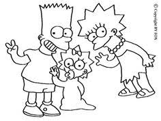 simpson coloring pages free the simpsons coloring pages for girls and boys maggie