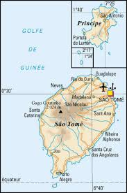 map of sao tome detailed road map of sao tome and principe sao tome and principe
