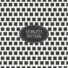 Chess Board Design Geometric Monochrome Hipster Squares Seamless Pattern Paper For