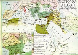 Ottoman Empire Borders The Maps Of Ottoman Empire