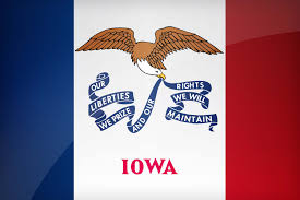 Iowa Hawkeyes Flag Iowa Us State Flag Description U0026 Download This Flag