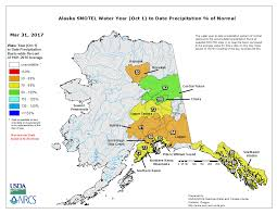 State Of Alaska Map by Drought March 2017 State Of The Climate National Centers For