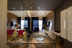 Apartments Beautiful Apartment Design Glass Table And Chairs WIth - Beautiful apartments design