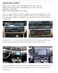 2002 bmw 325i stereo amazon com joying 7 inch gps radio android car stereo for bmw e46