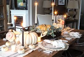How To Create A Layered Fall Table Setting - Design a table setting