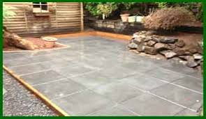 How To Cover A Concrete Patio With Pavers Sted Decorative Concrete Patios Mukilteo Seattle
