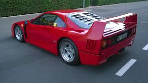 f40 auction this f40 just sold for 791 000 at auction top gear