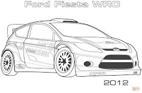 2012 ford fiesta wrc coloring page free printable coloring pages