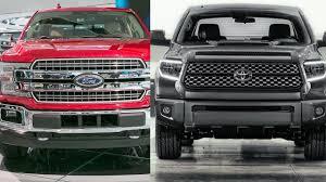 2018 ford f 150 vs toyota tundra vs dodge ram 1500 visual