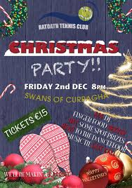 christmas party friday 2nd december tickets on sale now