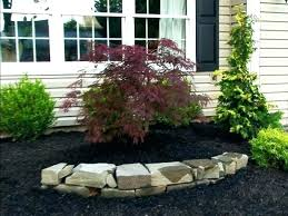 Garden Ideas With Rocks Landscaping Ideas With Mulch And Rocks Landscaping Ideas Using