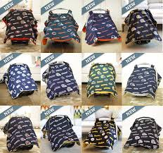 Carseat Canopy For Boy by New Nfl Licensed Car Seat Canopy Cover Baby Infant Cover Football