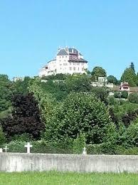 chambre d hote menthon st bernard vue depuis la ville photo de chateau de menthon bernard