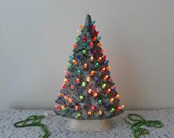 vintage ceramic christmas tree vintage ceramic christmas tree etsy