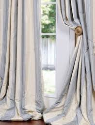 Beige And Gray Curtains Faux Taffeta Drapes Foter