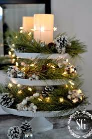 Table Christmas Decorations Centerpieces