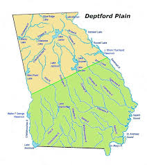 Florida And Georgia Map by Deptford Plain Georgia Indian Pottery Site