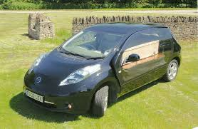 nissan leaf price used electric nissan leaf hearse greenest way to travel the last mile