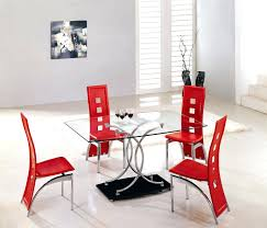 stylish small round dining table with glass top idea plus