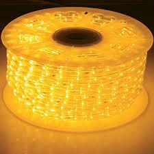 led rope light bulk reel yellow rope lights