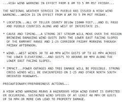 Flag White With Red Cross 12 16 16 U2013 Red Flag Warning U0026 High Wind Warning Issued Uccs Alerts