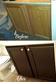 Stain Kitchen Cabinets Before And After Rust Oleum Cabinet Transformation Review Before U0026 After Pictures