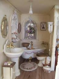 Shabby Chic Dollhouse by 337 Best Shabby Chic Miniature Images On Pinterest Dollhouses