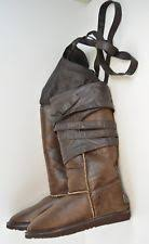 womens ugg everglayde boots ugg 1007770 s everglade brown sugar sued leather boots size