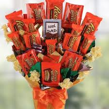 fathers day basket day reese s candy bouquet
