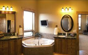 great bathroom lights above mirror and over bathroom cabinet