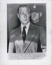 1951 press photo duke of windsor london ailing king george vi