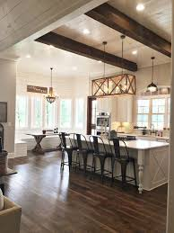 Farmhouse Dining Room Lighting by Farmhouse Decorating Style 99 Ideas For Living Room And Kitchen