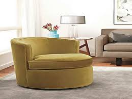 Swivel Armchairs For Living Room Design Ideas Oversized Round Swivel Chair Slipcover Modern Living Room Design