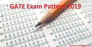 pattern of gate exam gate exam pattern 2019 check gate marking scheme paper mode