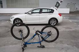 bmw mountain bike on the ride how to boot your bike in a car