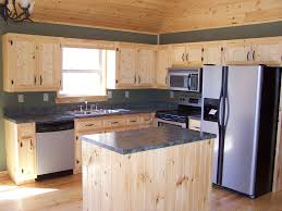 Unfinished Pine Cabinet Doors Custom Made Knotty Pine Kitchenpine Kitchen Cabinet Doors Drawer