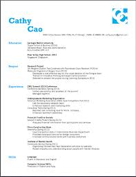 resume look assignment 5 yiqun cao