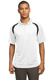 Polo Shirt Meme - sport tek dry zone colorblock raglan performance polo shirt t476 ebay