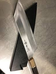 new toy 165mm kiritsuke gyuto blue 2 by sakai takayuki picked