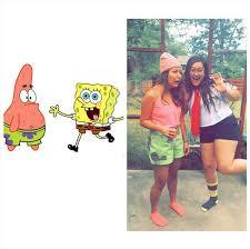 Spongebob Halloween Costumes Girls Diy Halloween Costumes Friends Popsugar Smart Living