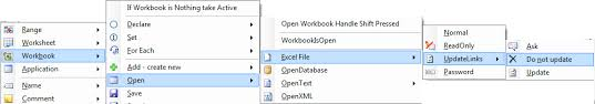 opening an excel workbook in vba